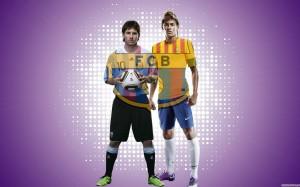 Messi and Neymar wallpaper