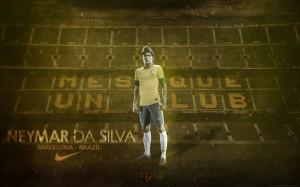 Neymar Barcelona – Brazil Wallpaper