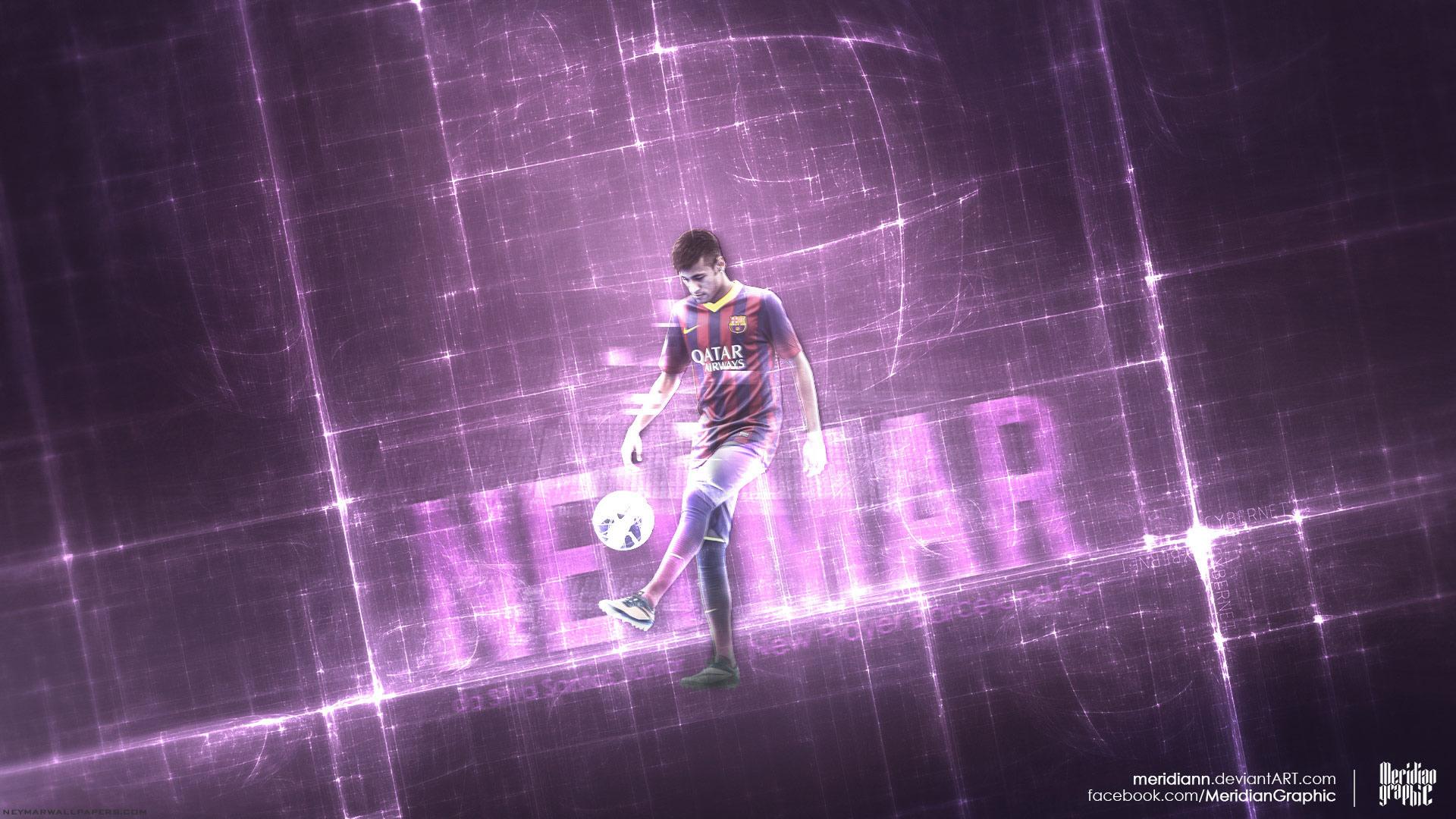 Neymar Barcelona wallpaper by Meridiann