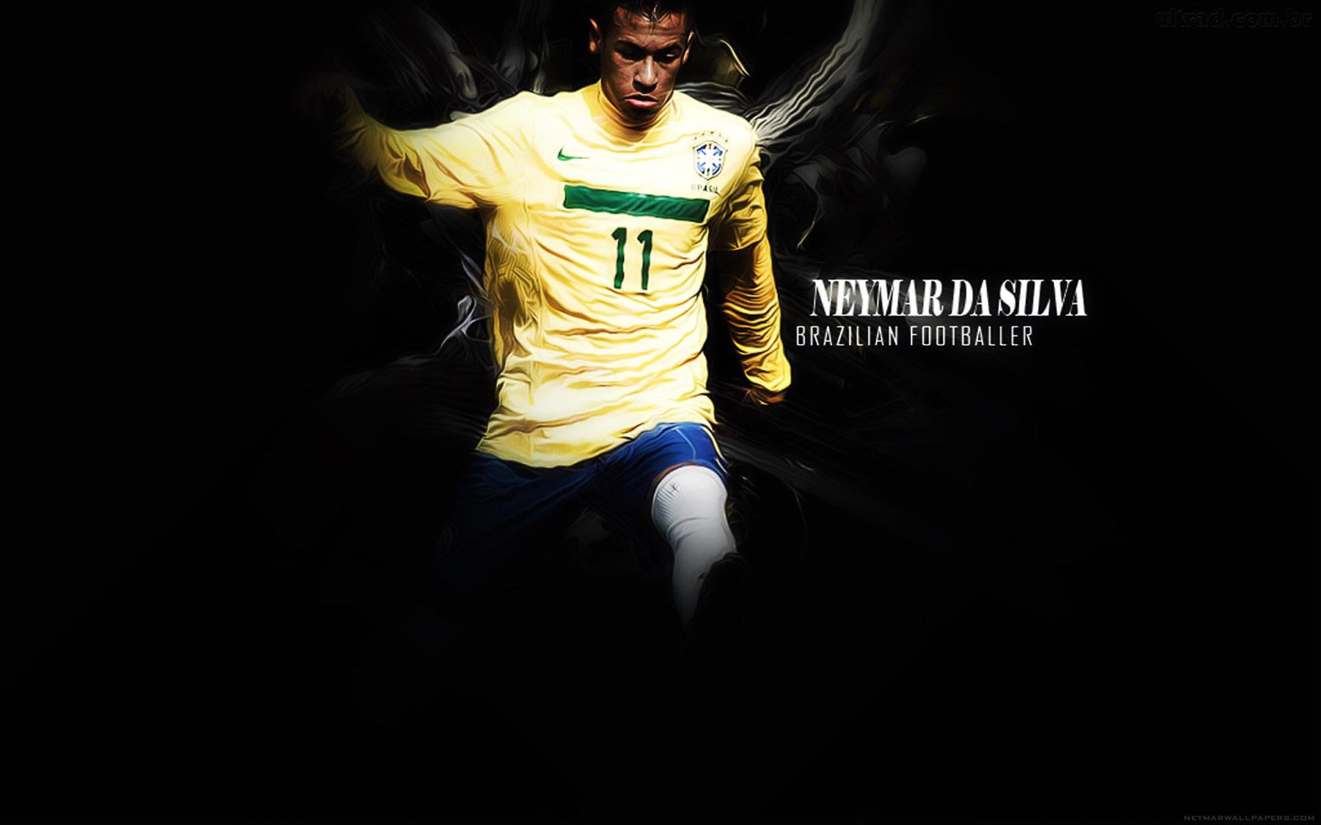Neymar Brasil jersey wallpaper