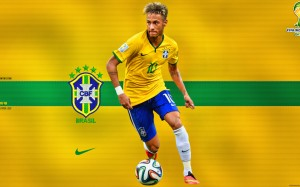 Neymar Brazil 2014 World Cup wallpaper by Jafar