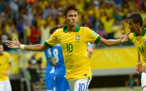Neymar Brazil World Cup 2014 wallpaper