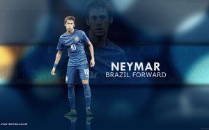 Neymar Brazil Forward wallpaper