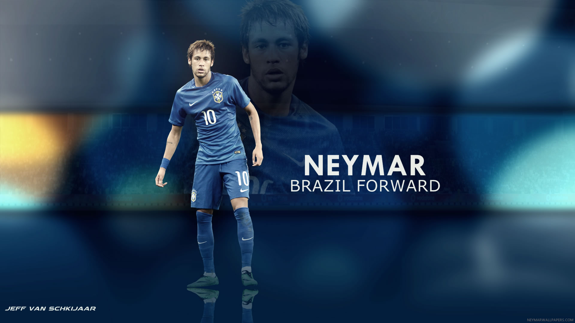 Neymar Brazil Forward wallpaper