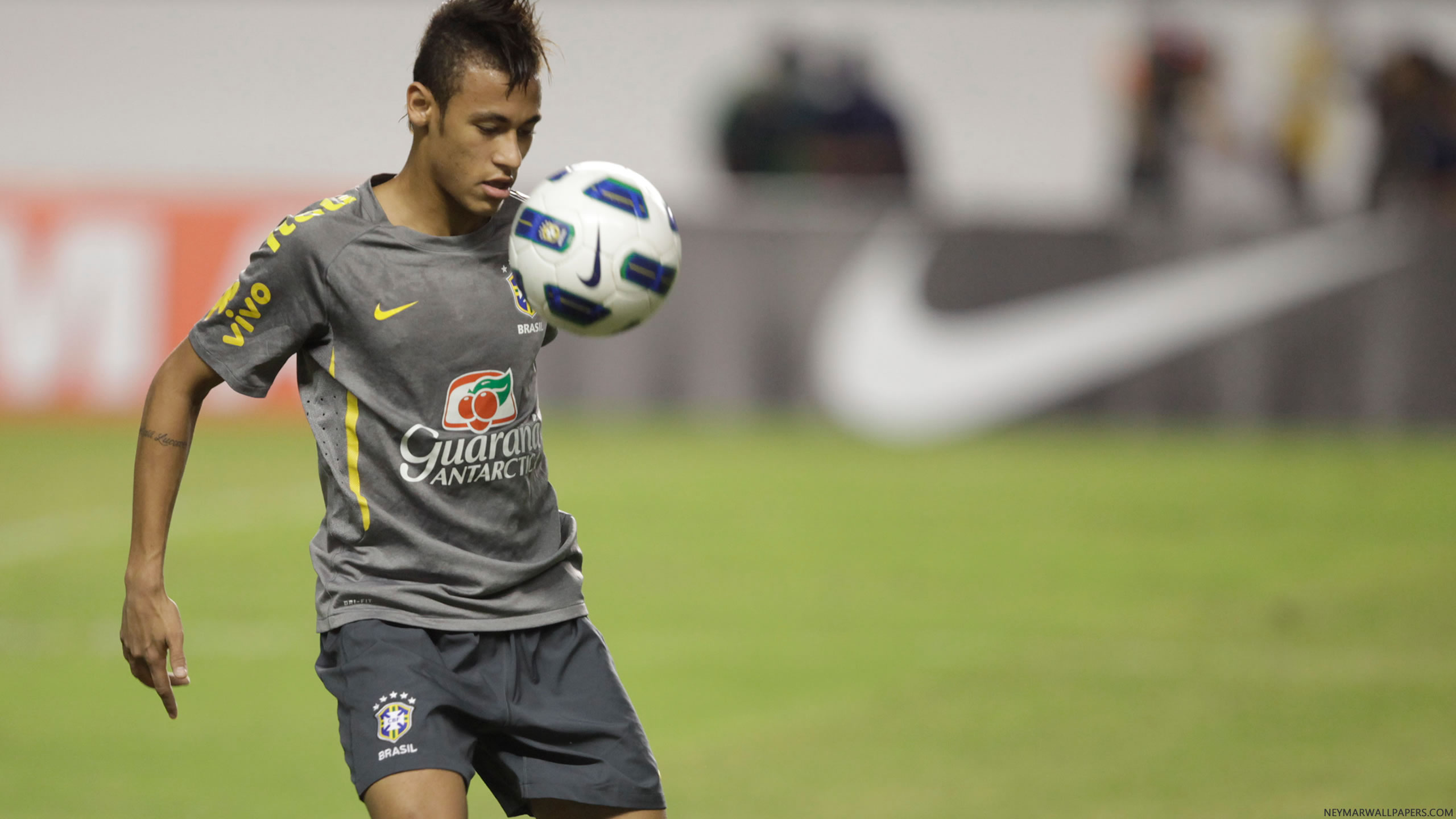Neymar Brazil training wallpaper