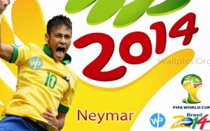 Neymar Fifa World Cup 2014 Brazil Wallpaper