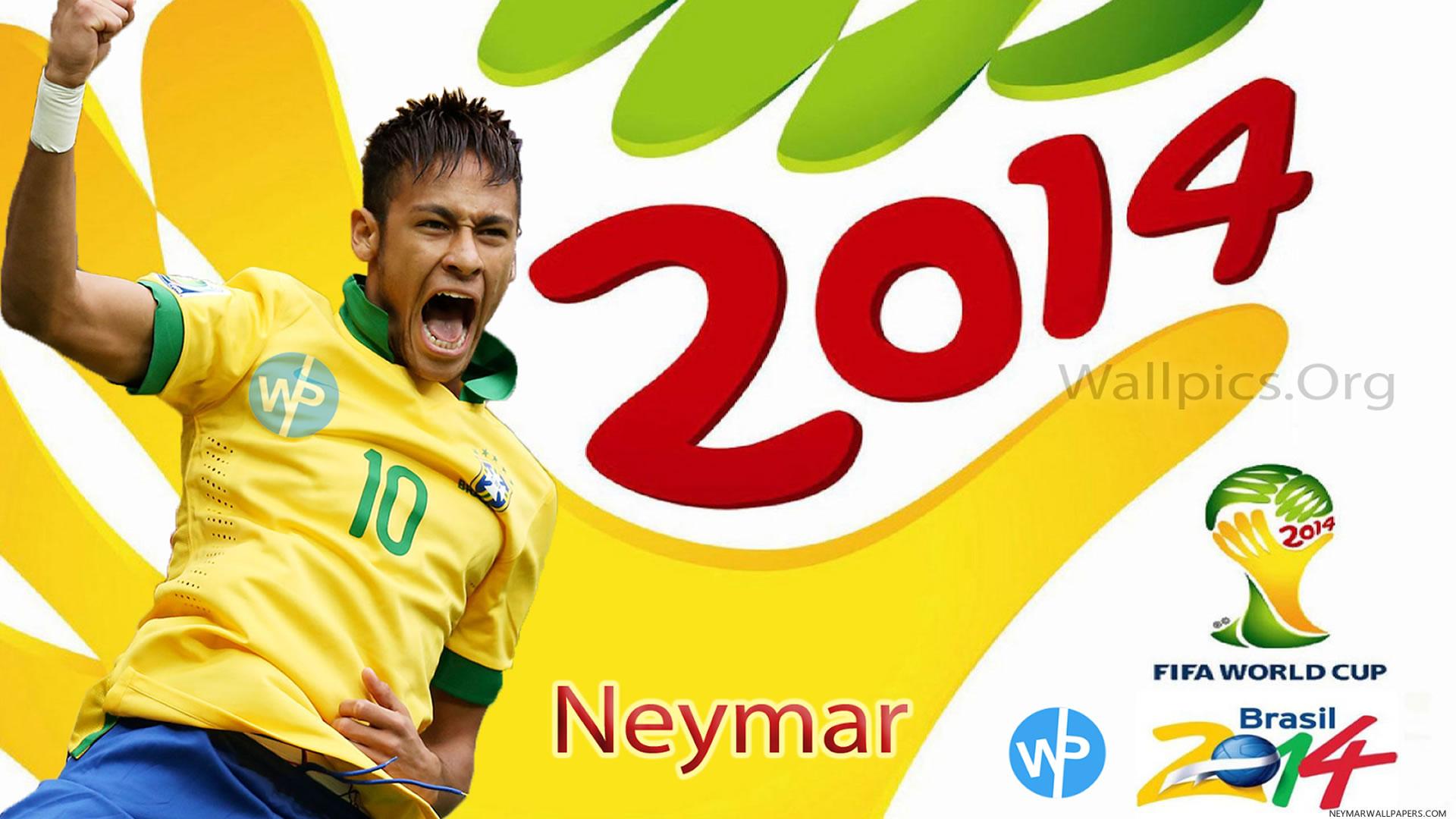 Neymar Fifa World Cup 2014 Brazil Wallpaper