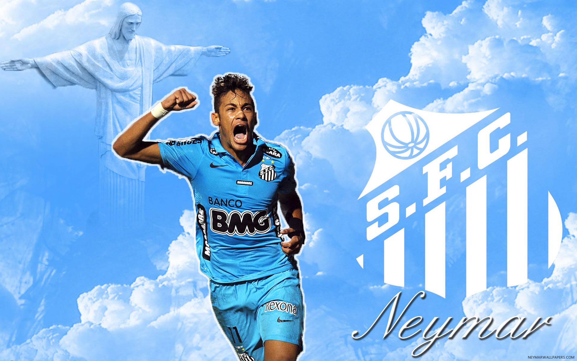 Neymar Santos wallpaper