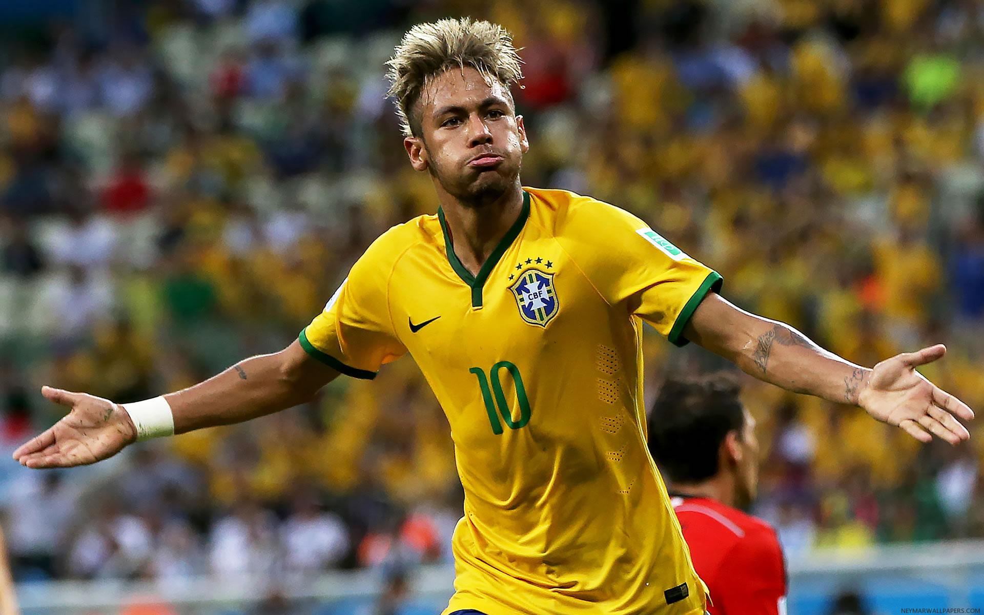 Neymar World Cup 2014 Wallpaper (2)