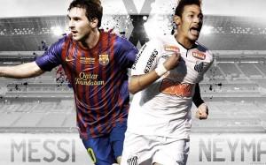 Neymar and Messi wallpaper