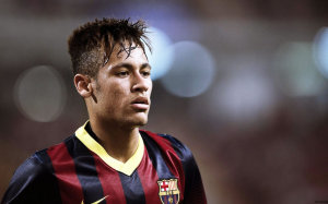 Neymar head Barcelona 2015 wallpaper