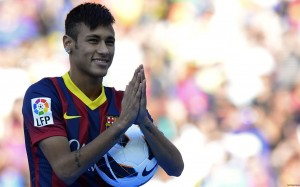 Neymar praying wallpaper