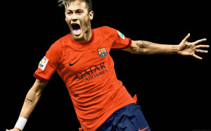 Neymar screaming wallpaper 2015