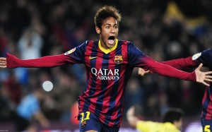 Neymar screaming wallpaper