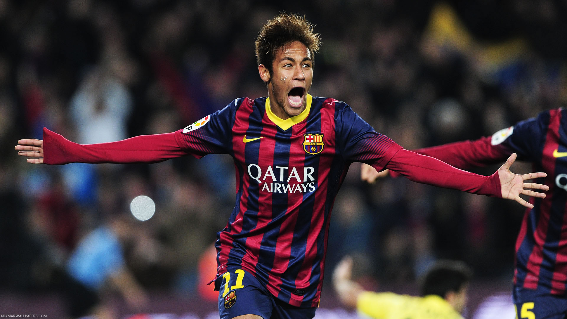 Hd wallpaper neymar - Neymar Screaming Wallpaper