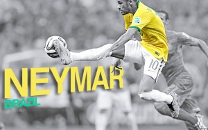 Neymar strike wallpaper