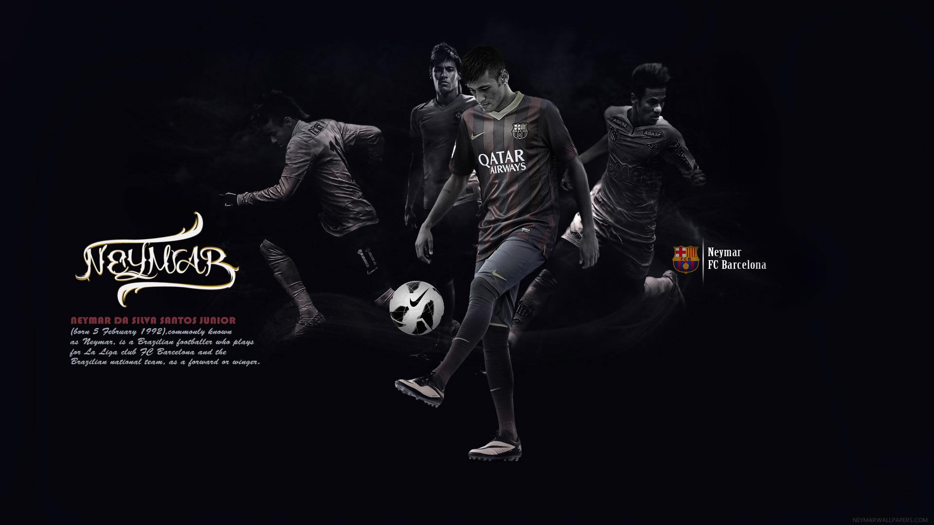 Neymar training wallpaper (2)