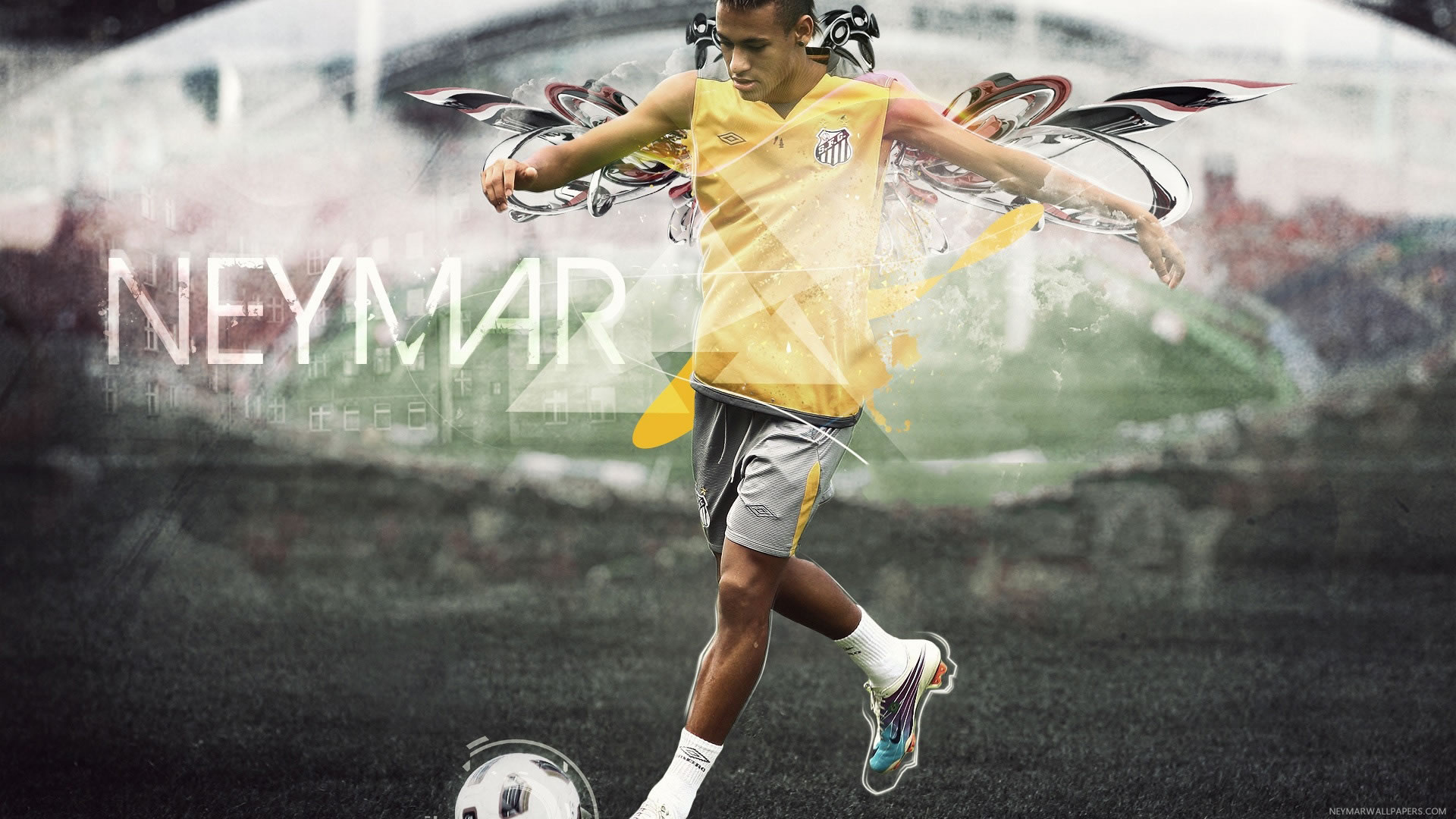 Neymar training wallpaper (3)