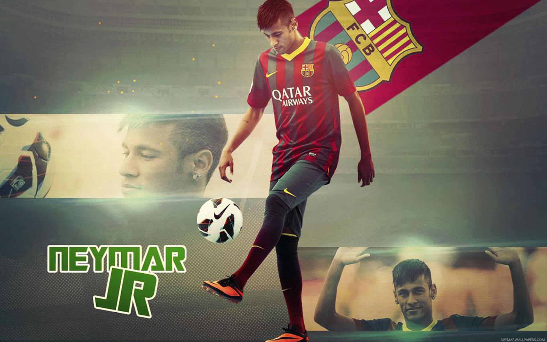 Hd wallpaper neymar - Neymar Training Wallpaper