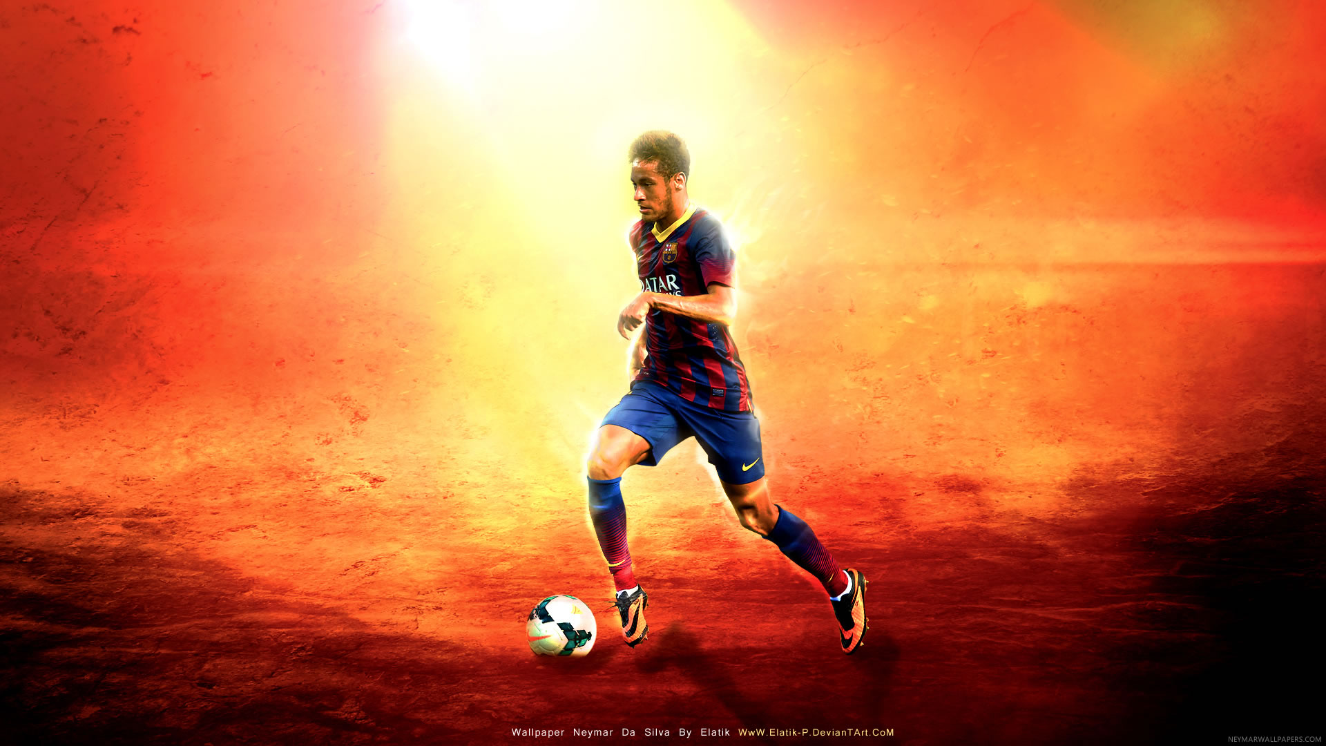 Neymar wallpaper by Elatik