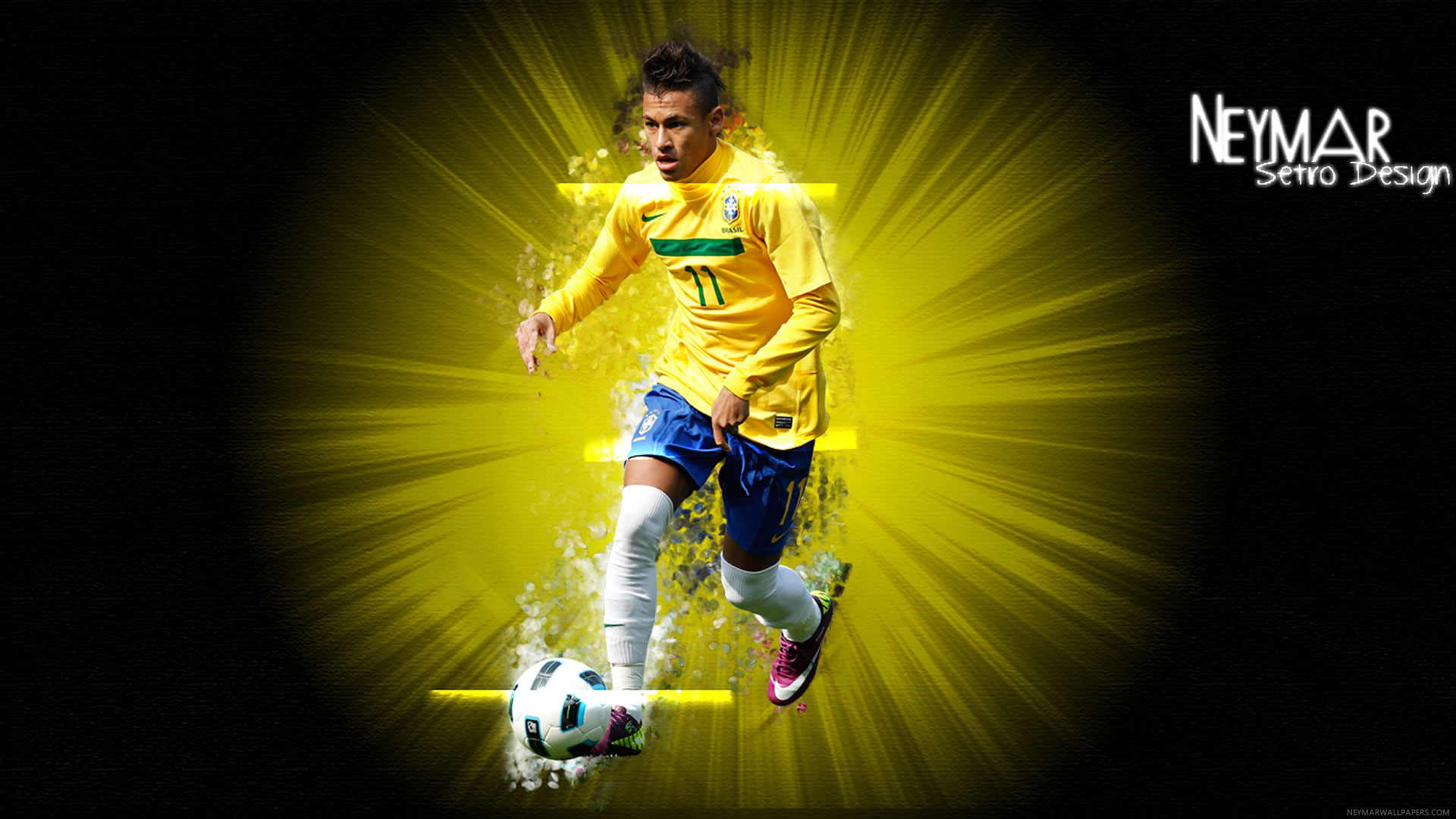 Neymar wallpaper by Setro