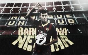 Neymar waving wallpaper (3)