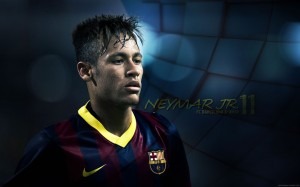 Sweaty Neymar Wallpaper