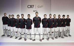 CR7 Nike Workout Squad Wallpaper