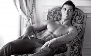Cristiano Ronaldo Armani shirtless wallpaper