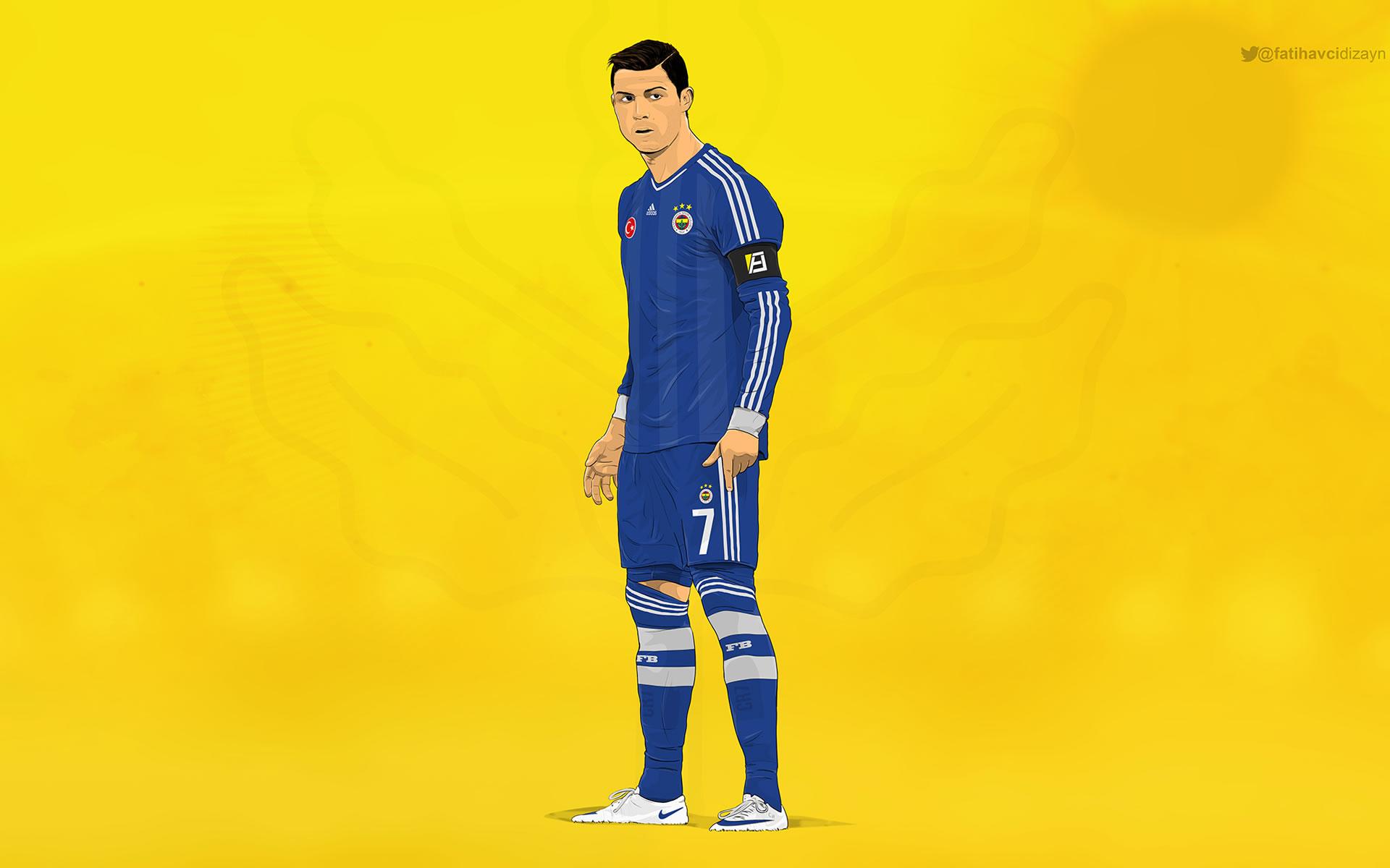Cristiano Ronaldo Fenerbahce Wallpaper