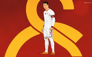 Cristiano Ronaldo Galatasaray 2015 Away Kit