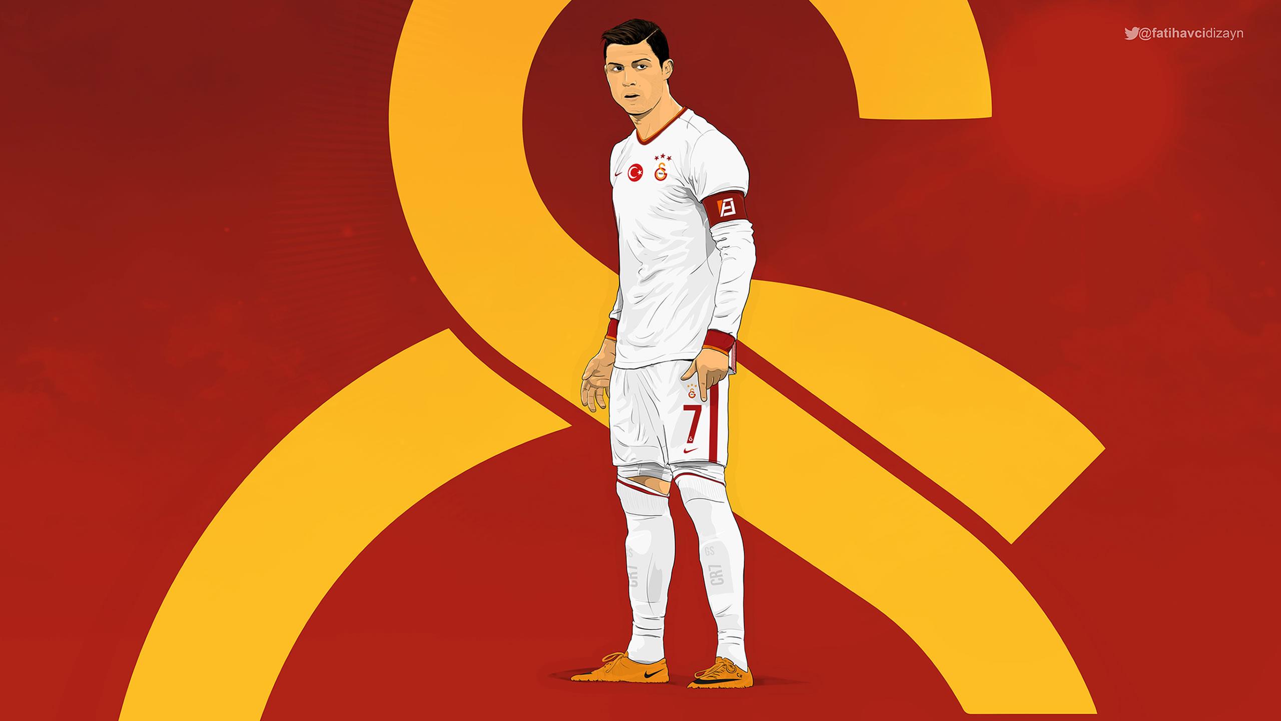 Cristiano Ronaldo Galatasaray 2015 Away Kit