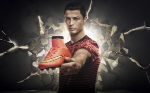 Cristiano Ronaldo Nike Mercurial Superfly wallpaper