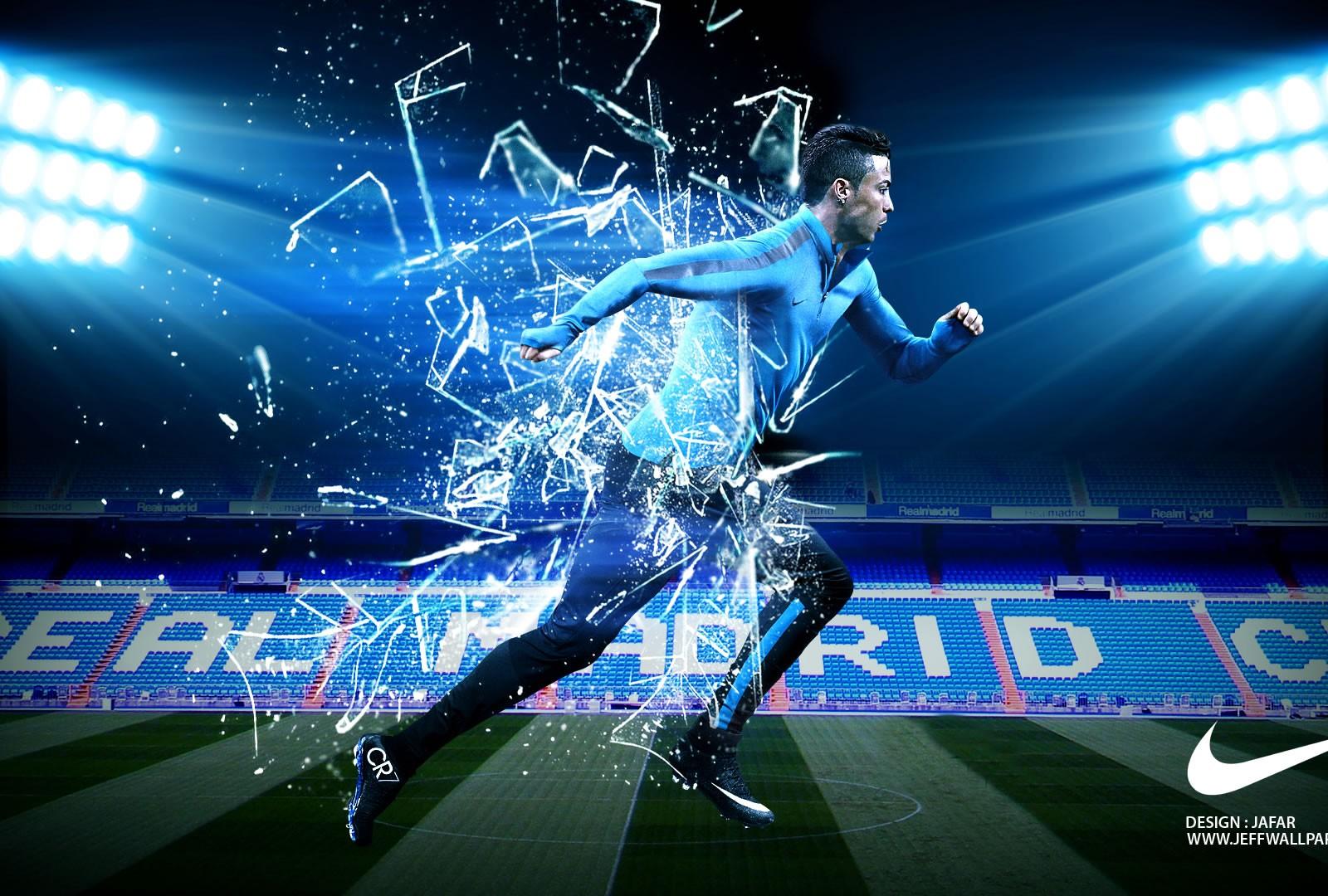Mejores 100 Fondos De Nike: Cristiano Ronaldo Nike Wallpaper By Jafarjeef