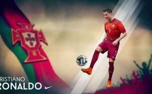 Cristiano Ronaldo Portugal 2014 World Cup Wallpaper