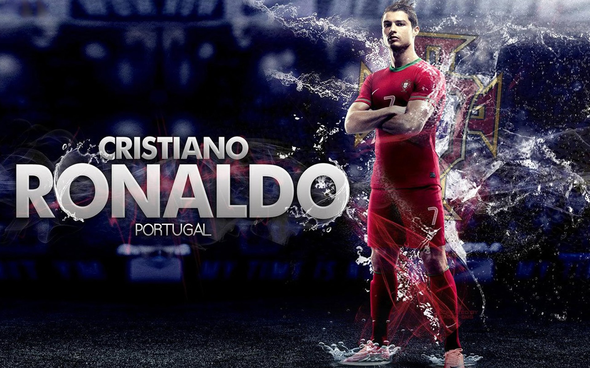 Cristiano Ronaldo Portugal Wallpaper by Badaz