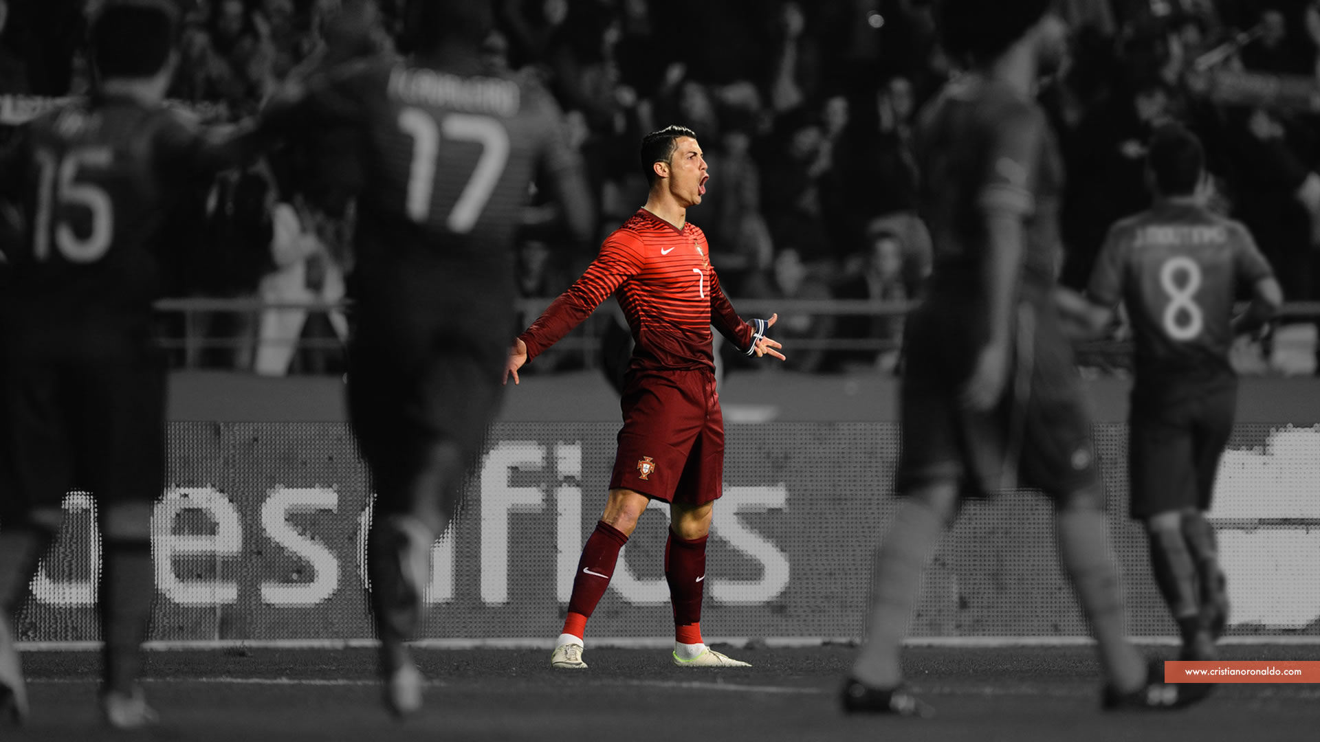 Cristiano Ronaldo Portugal official wallpaper