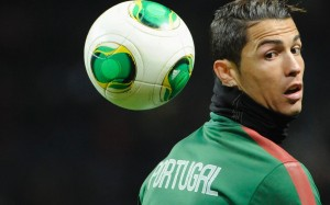 Cristiano Ronaldo Portugal practice session wallpaper