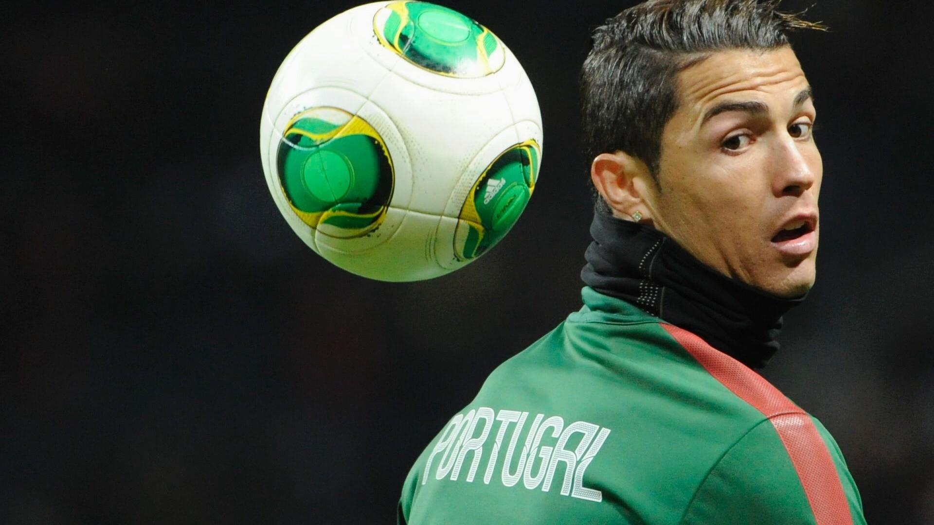 Cristiano Ronaldo Portugal practice session wallpaper