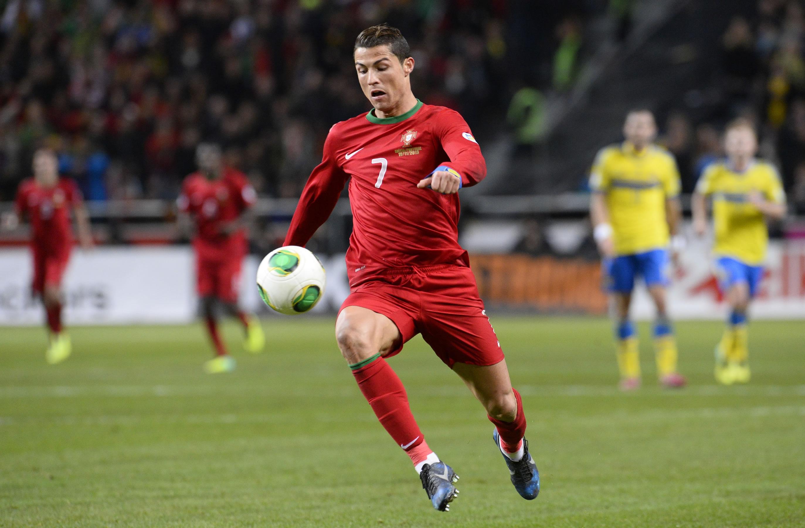 Cristiano Ronaldo Portugal vs Brazil wallpaper