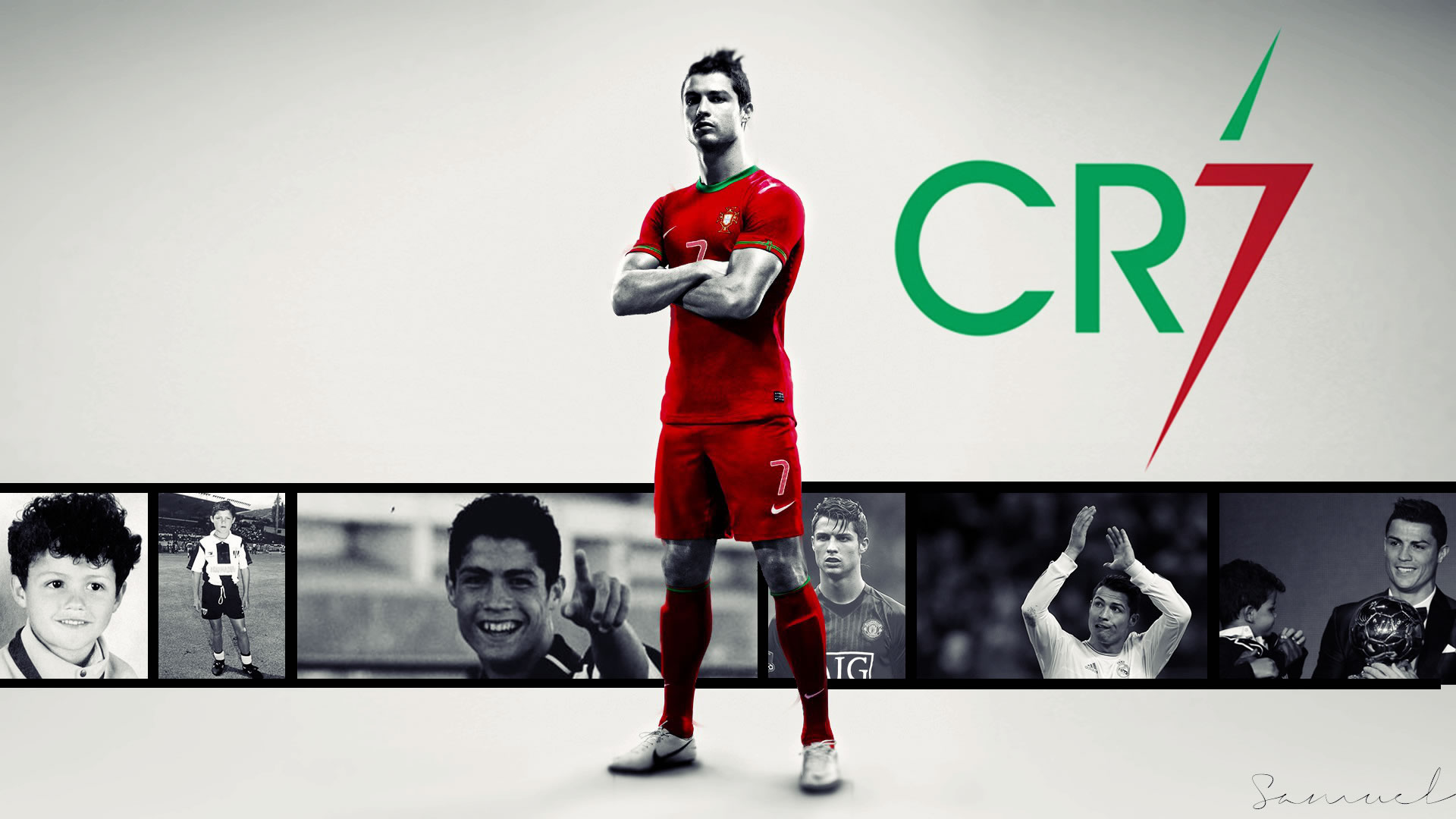 Cristiano Ronaldo Wallpaper by Samy7