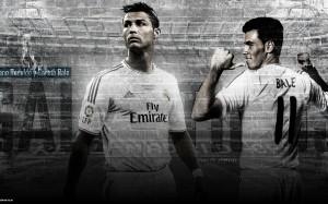 Cristiano Ronaldo and Gareth Bale wallpaper
