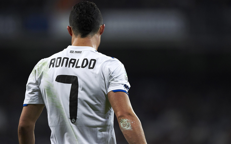 Cristiano Ronaldo back wallpaper