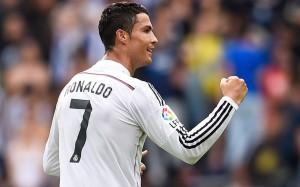 Cristiano Ronaldo celebrating (2)