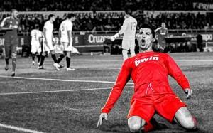 Cristiano Ronaldo goal celebration wallpaper