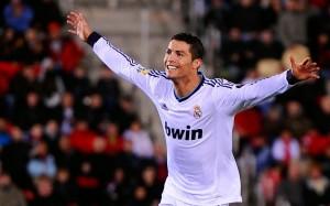 Cristiano Ronaldo happy wallpaper