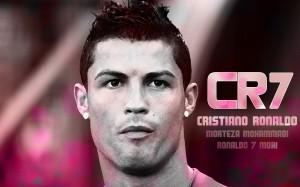 Cristiano Ronaldo head wallpaper