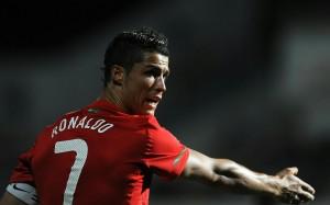 Cristiano Ronaldo pointing wallpaper