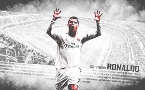 Cristiano Ronaldo running wallpaper (2)