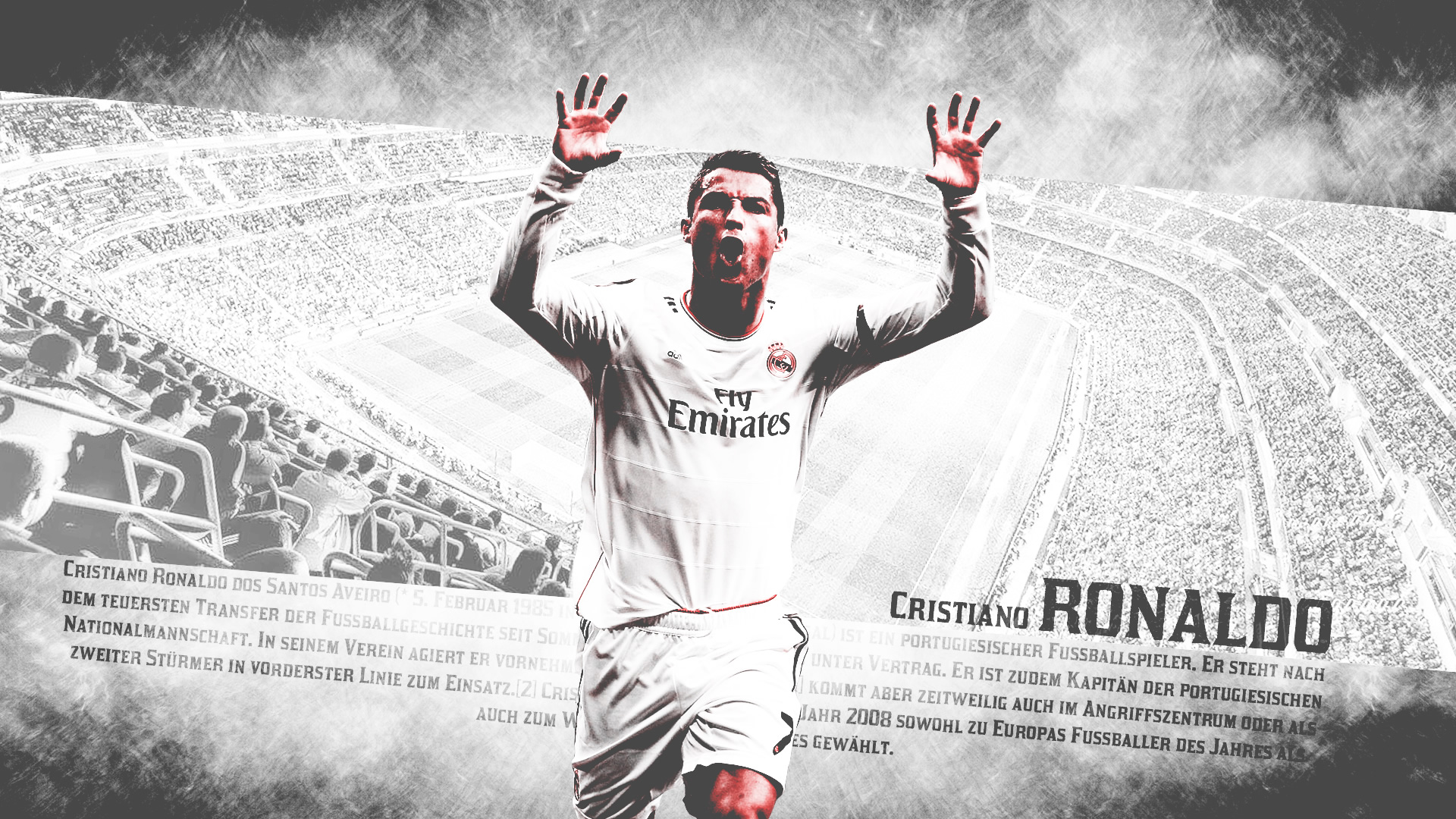 Cristiano Ronaldo running wallpaper (2)